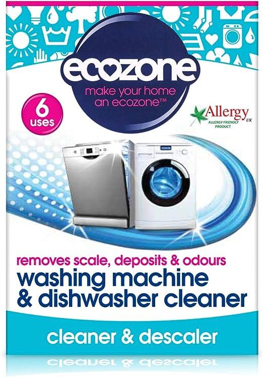 Ecozone Descalcificar Tabletas para Limpieza de la Lavavajillas y ...
