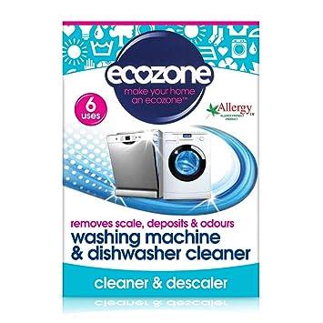 Limpiador de lavavajillas y lavadora de Ecozone, 135 g: Amazon.es ...