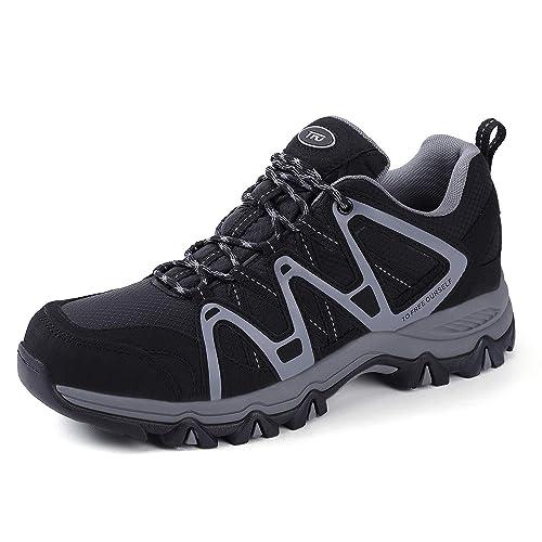 premium selection 66827 d9ea6 TFO Herren Trekking & Wanderschuhe Wasserabweisende und Atmungsaktive  Outdoor Schuhe mit Rutschfester Sohle