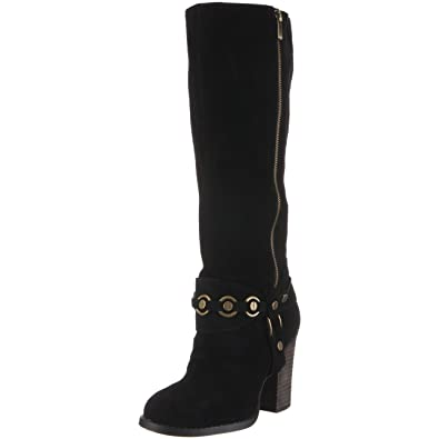 Chinese Laundry Womens Backstreet Black Suede - Boots
