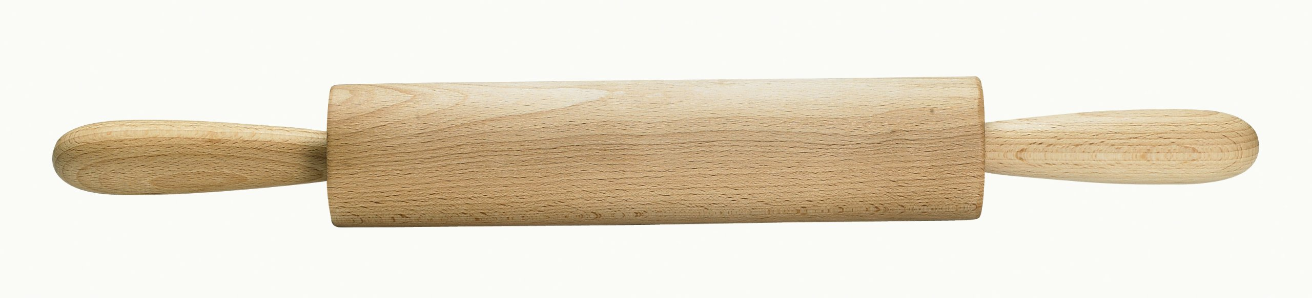 Mrs. Anderson's Baking Wooden Rolling Pin, German Beechwood with Steel Ball Bearings, 10-Inch by 2-Inch
