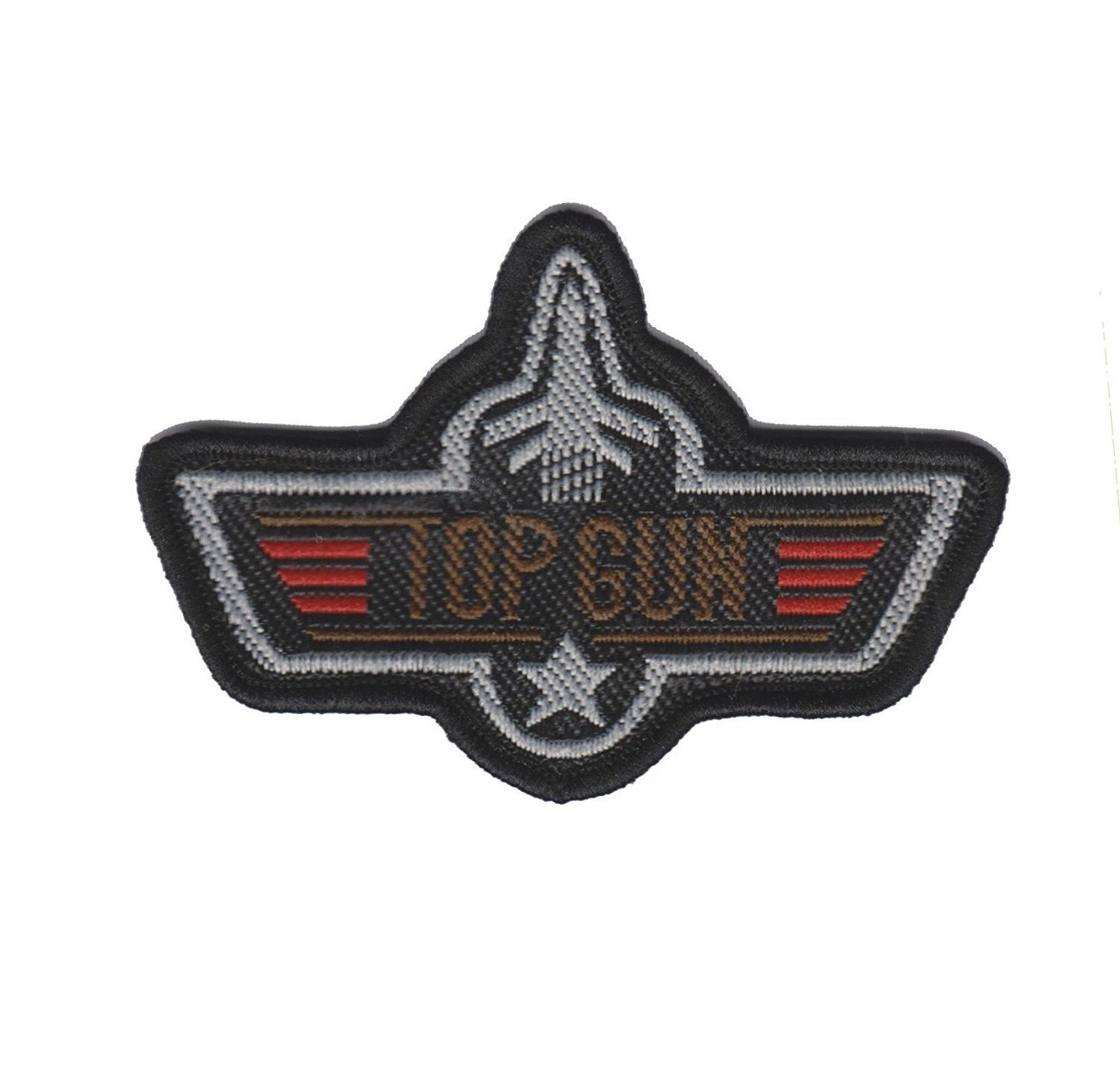 Top Gun Iron on or Sew on Embroidered Patch