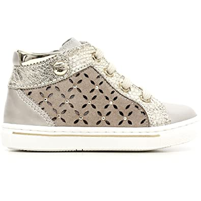 Nero Giardini Sneakers Basses Fille - Jaune - Or, 19 EU EU