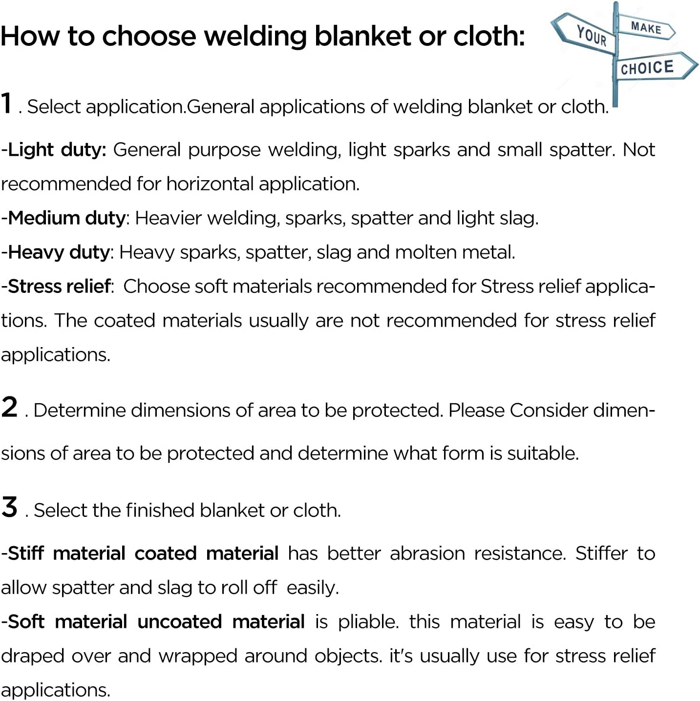 Welding Curtain 1100 Celsius Degree Maximum Thermal Protection Resistant OASD 3X3FT 1500GSM Heavy Duty Welding Blanket Carbon Fiber with Brass Grommets for Heat Shield