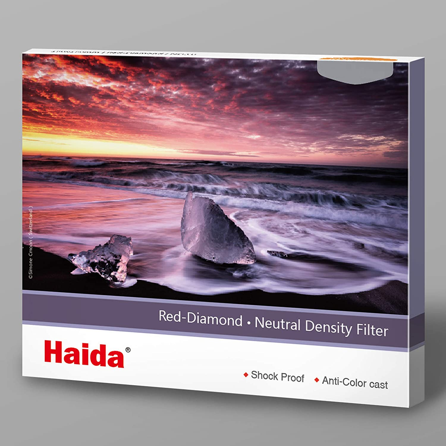 Haida Red Diamond Shockproof 150mm ND1.2 16x Filter ND Double Strength Optical Glass MC 4 Stop ND16 150 HD4372