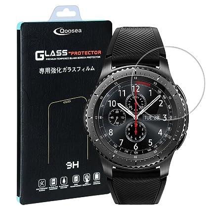 Qosea Samsung Gear S3 Classic/Samsung Gear S3 Frontier Protector ...