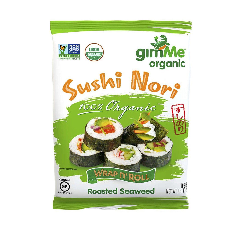 Gimme Seaweed Rstd Nori Org
