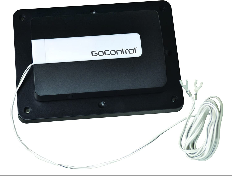 GoControl/Linear GD00Z-4 Z-Wave Garage Door Opener Remote Controller, Small, Black