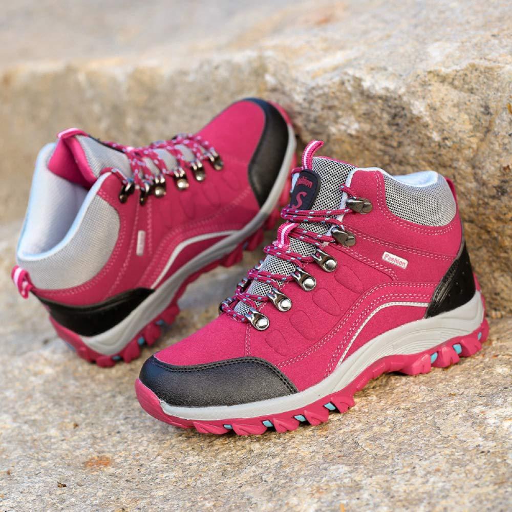Schuhe Rutschfeste Wanderschuhe, Leichte Wanderschuhe Für Paare Im Freien, Hohe Wanderschuhe
