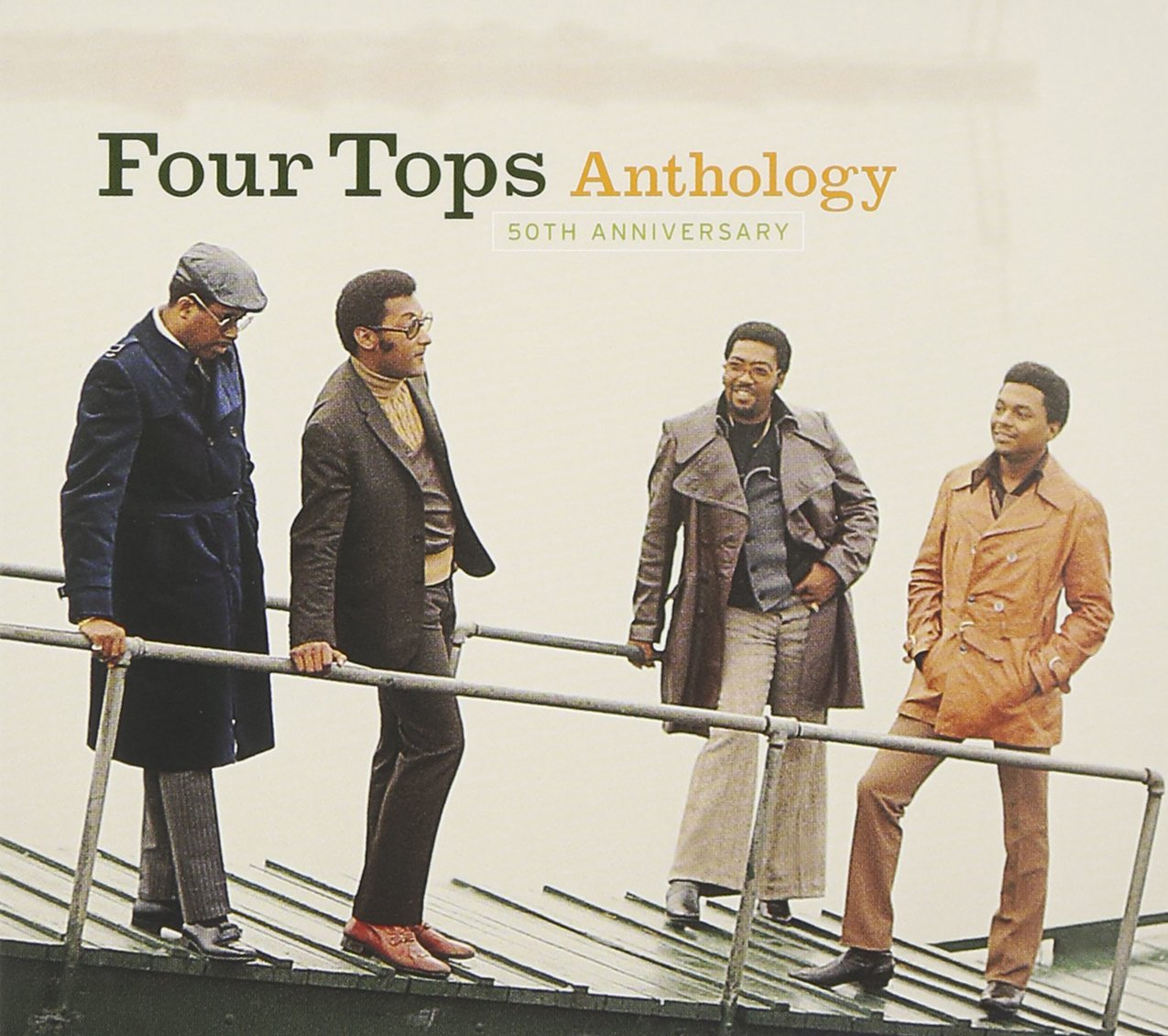 50th Anniversary Anthology [2 CD] by FOUR TOPS