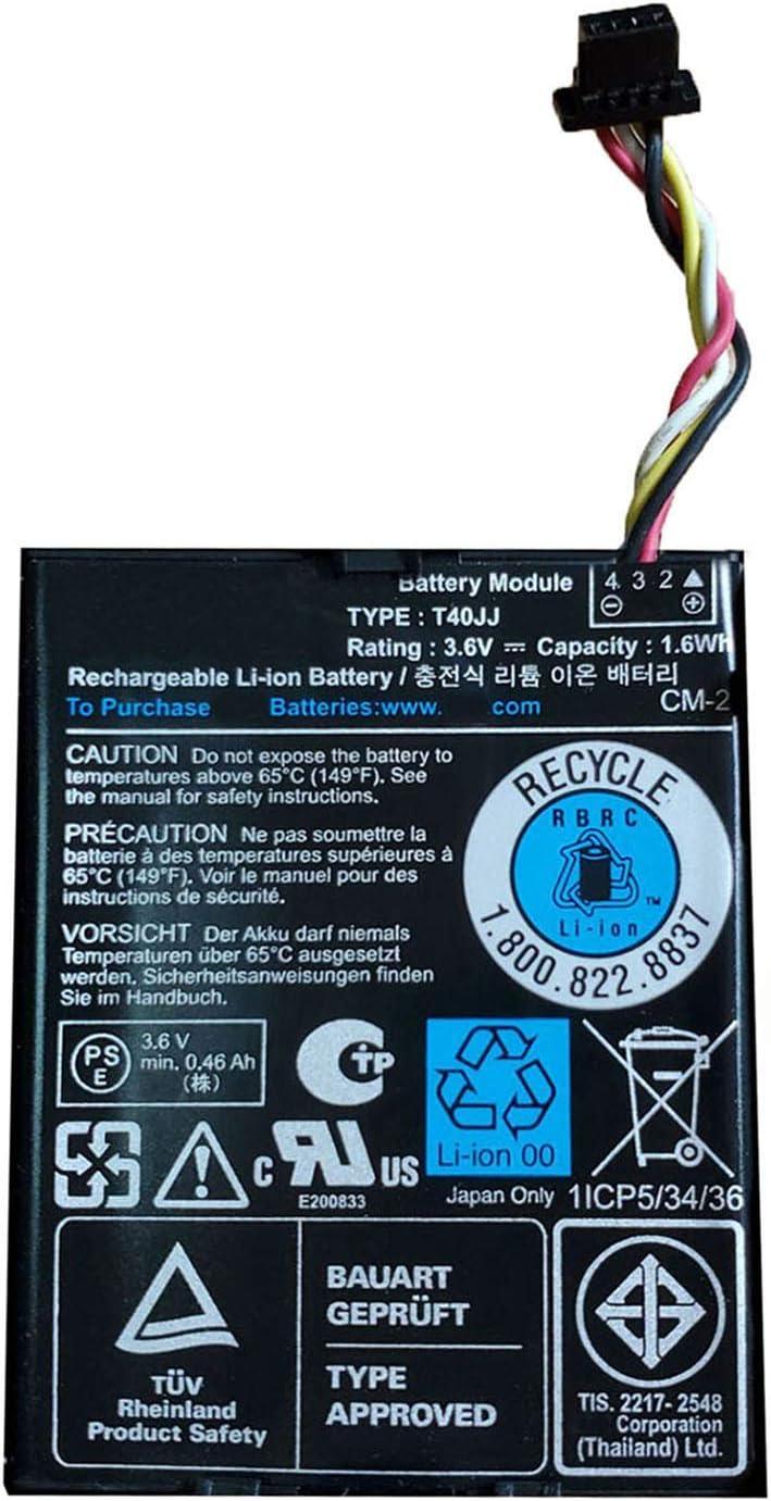 Dentsing Compatible/Replacement Laptop Battery for Dell PERC RAID H710 H710P H730 H810 H830 70K80 H132V T40JJ
