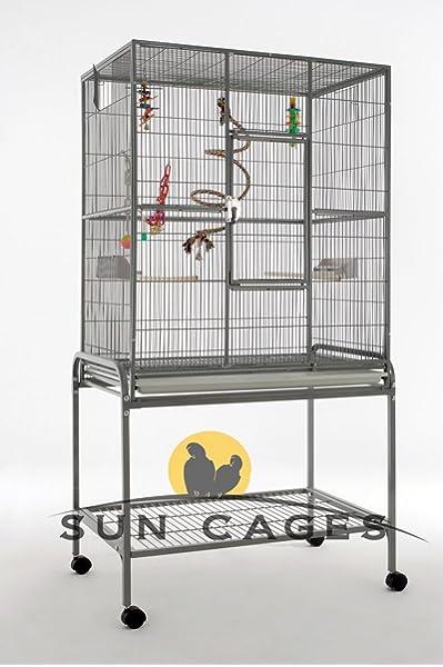Sun Cages Jaula Loros Finca Eco: Amazon.es: Productos para mascotas