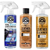 $29 » Chemical GuysLeather Cleaner and Conditioner Complete Leather Care Kit (16 oz) (2 Items)…