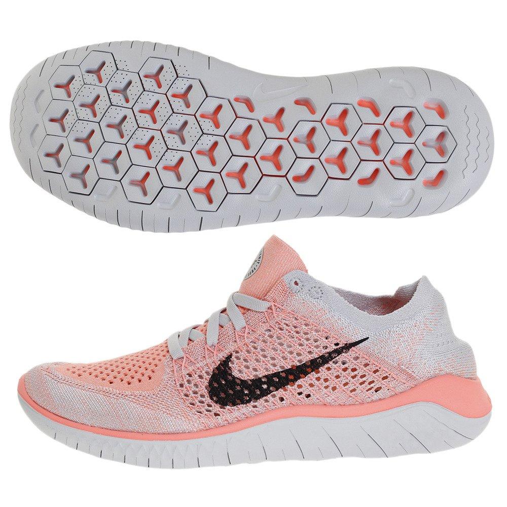 NIKE Women's Free Rn Flyknit 2018 Running Shoe B07B77929K 6.5 B(M) US|Red/Black