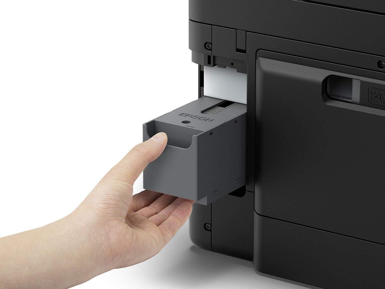 Epson Workforce Pro WF-4720DWF 4-in-1 Business Tintenstrahl-Multifunktionsger/ät schwarz Drucken, Scannen, Kopieren, Fax, ADF, WiFi, Ethernet, NFC, Duplex, DIN A4,  Dash Replenishment-f/ähig