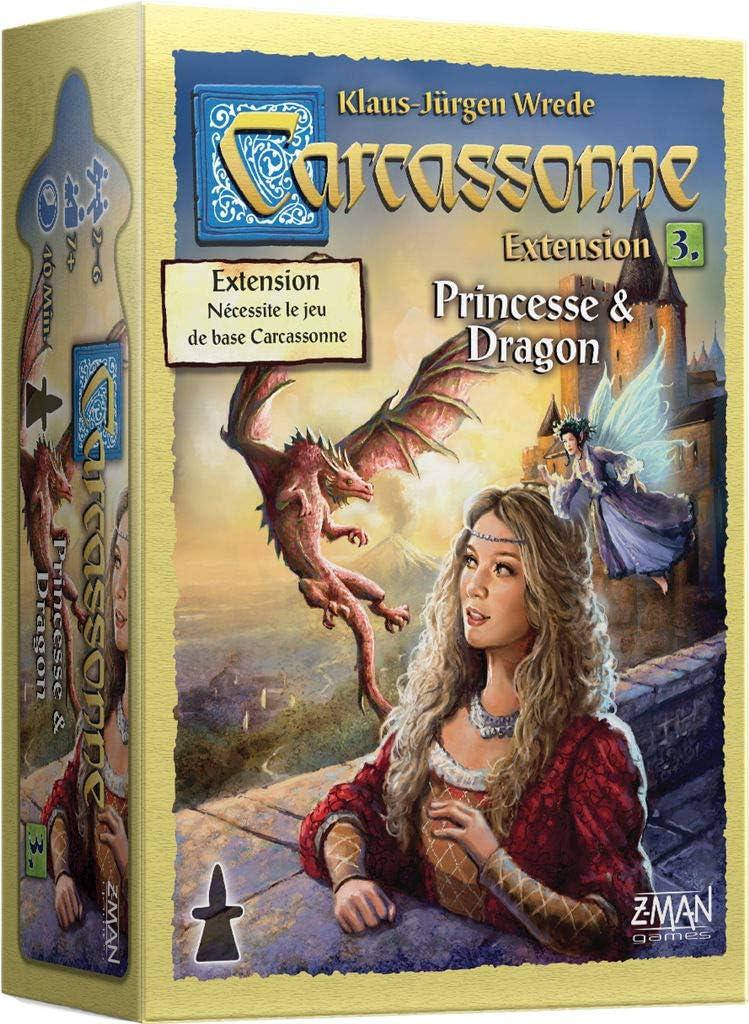 BOX 6 meeple Carcassonne Extension-Cathédrales en Allemagne-Extention