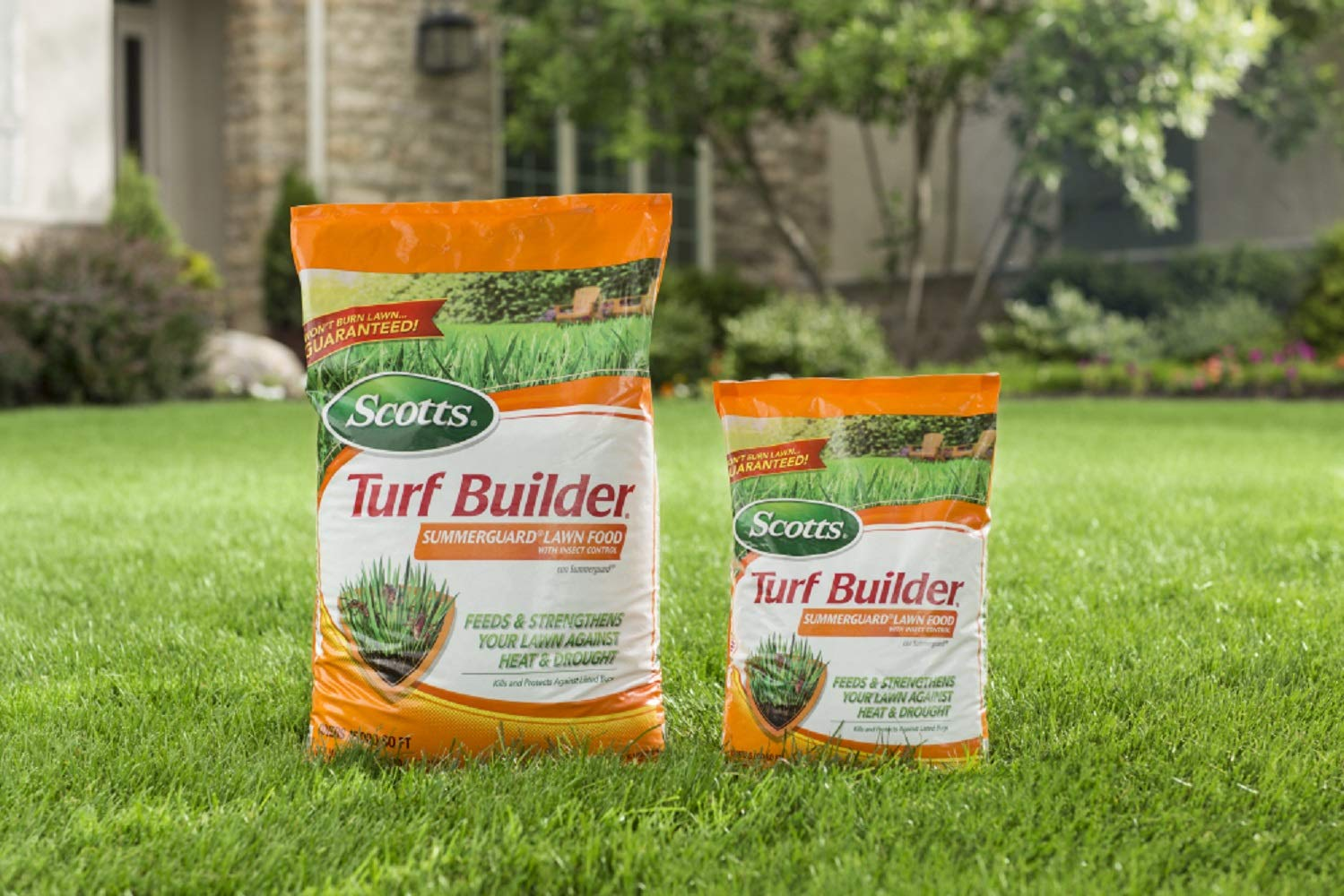 Scotts 49013 Turf Builder SummerGuard Lawn Food with Insect Control 13.35 lb, 5 M by Scotts