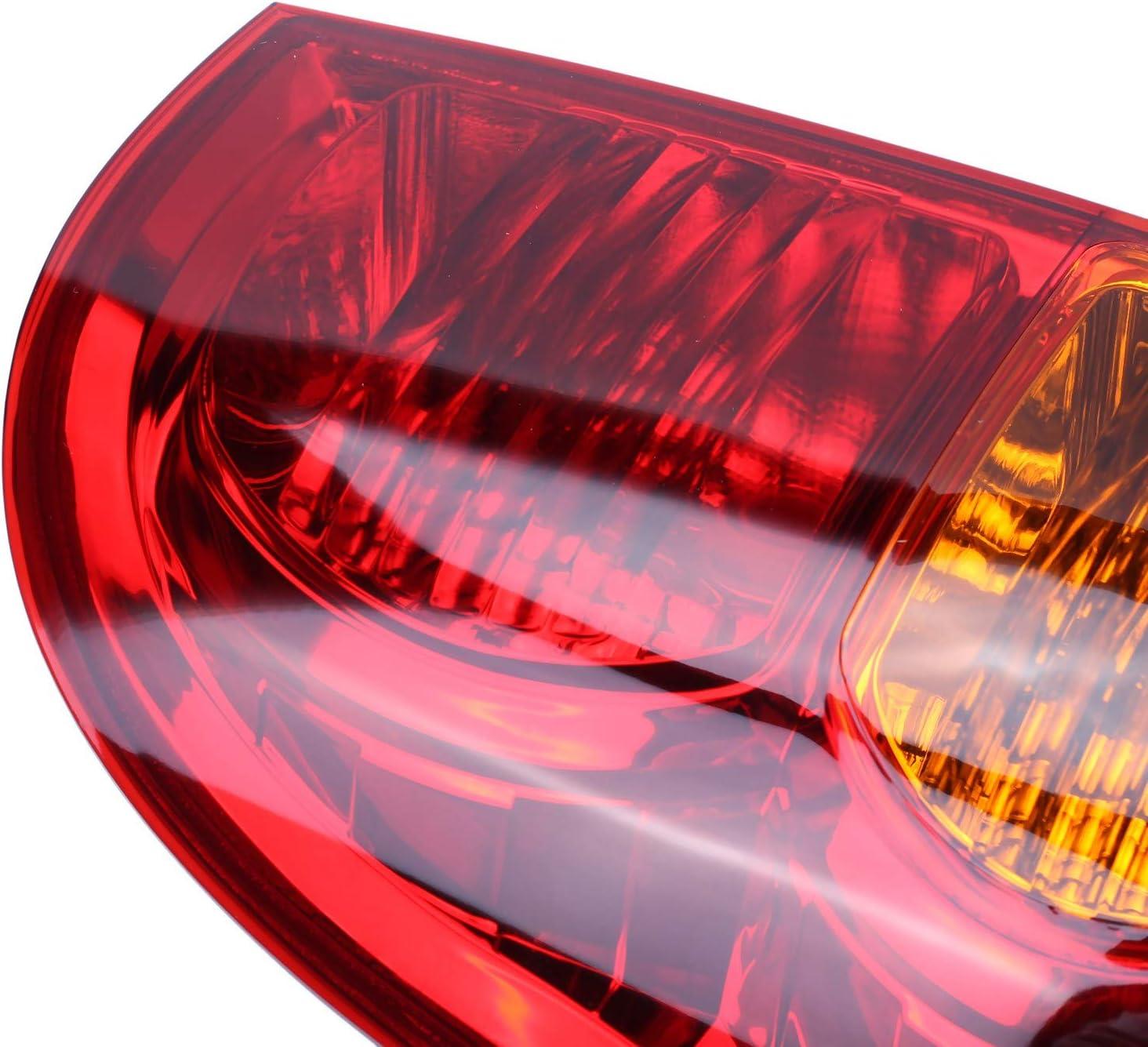 Nrpfell Feu Arri/ère Gauche Rouge pour Hilux 2005-2011 Feu de Freinage Arri/ère avec Faisceau de Cables