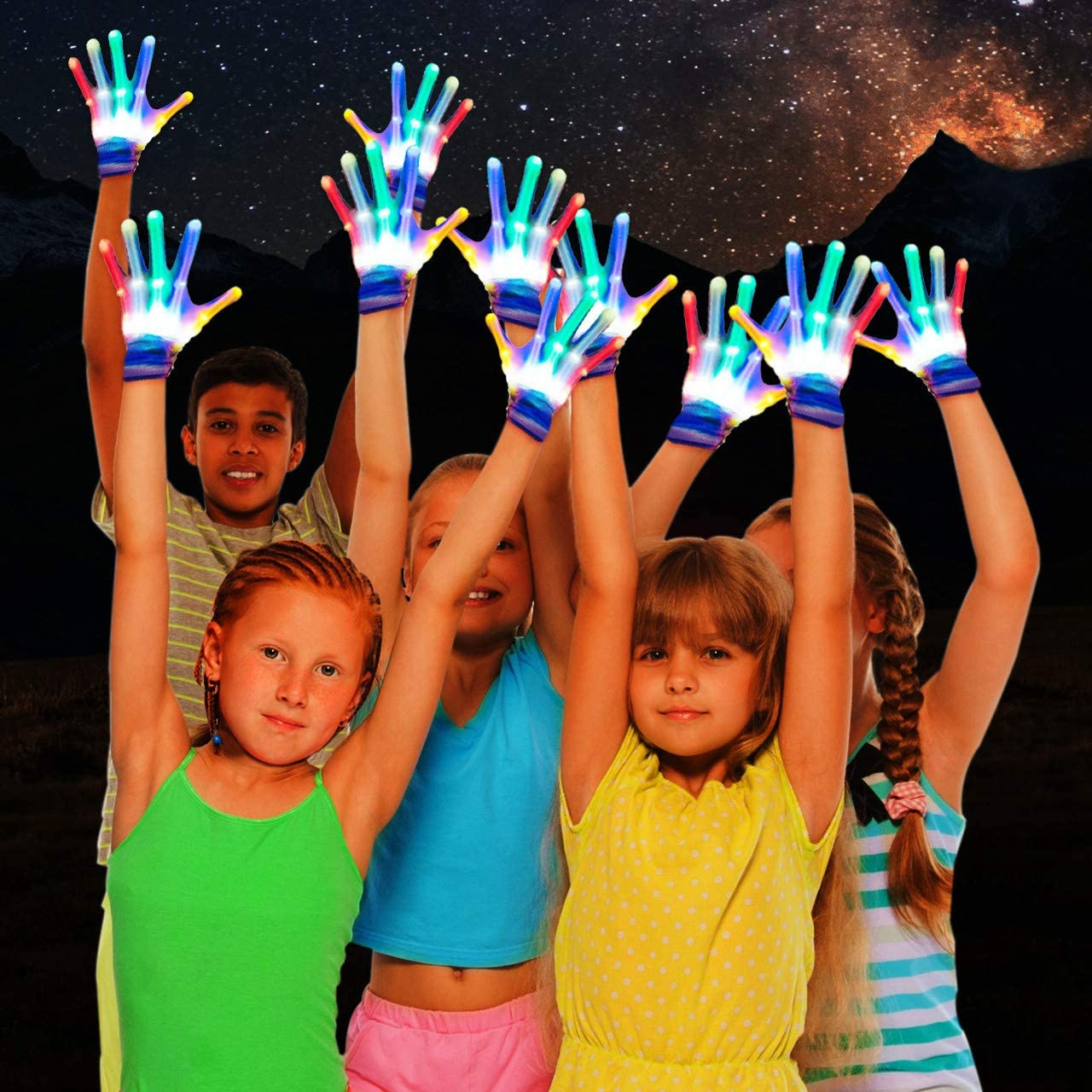 Best Gifts Fricon Flashing Gloves Cool Fun Toys
