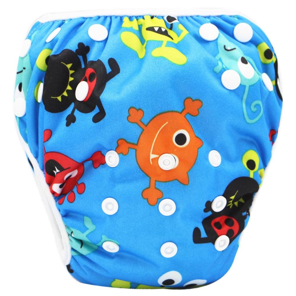 Fashion Toddler Baby Boys Girls Cute Pattern Swimwear Swimming Trunks Shorts Xshuai for 0-3 Years Old Kids