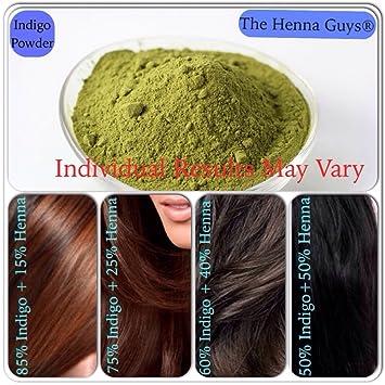 Amazon Com Indigo Powder For Hair Color Dye 4x100 Grams The