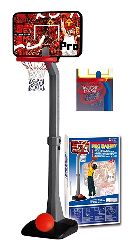 Sure NBA Pro Basket - Canasta de baloncesto infantil con soporte ...