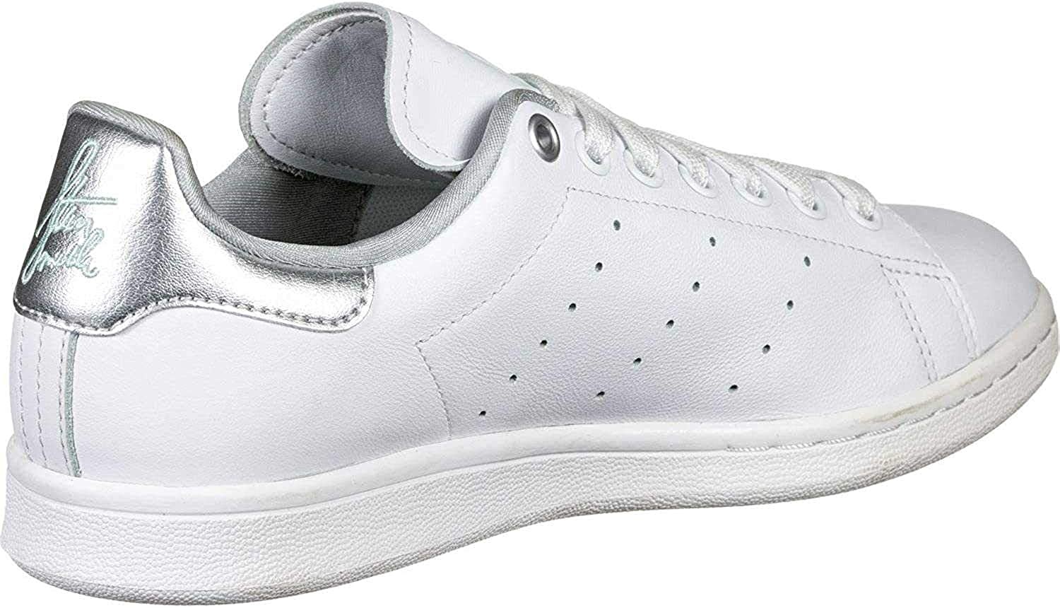 Adidas Stan Smith W White Silver Metallic Clear Mint