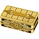 Yu-Gi-Oh! Cards: Gold Sarcophagus Mega Tin | 1 Rare Card | 1 Ultra Rare Card | 1 Prismatic Secret Rare