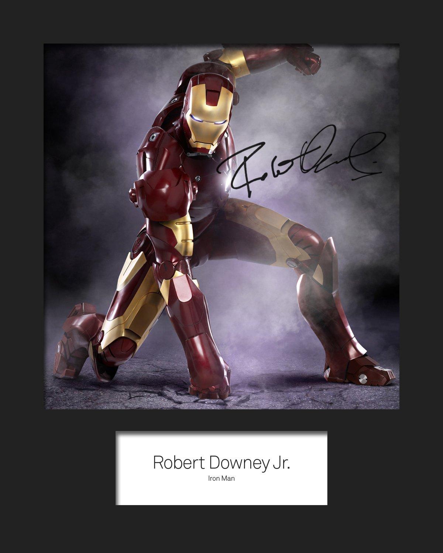 Robert Downey Junior–Iron Man # 2, signiert, 10x 8drucken