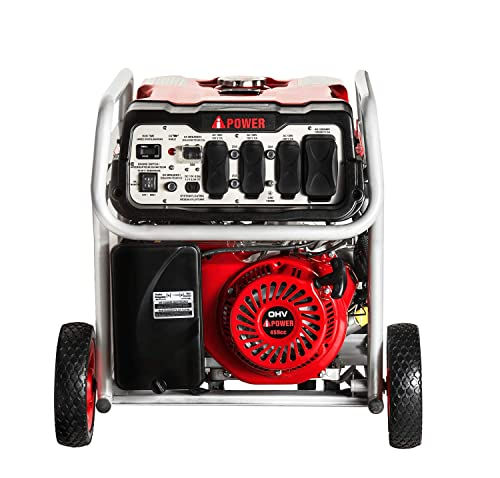 Ai Power SUA12000EC 12000-Watt Gas Powered Generator W Electric Start CARB EPA