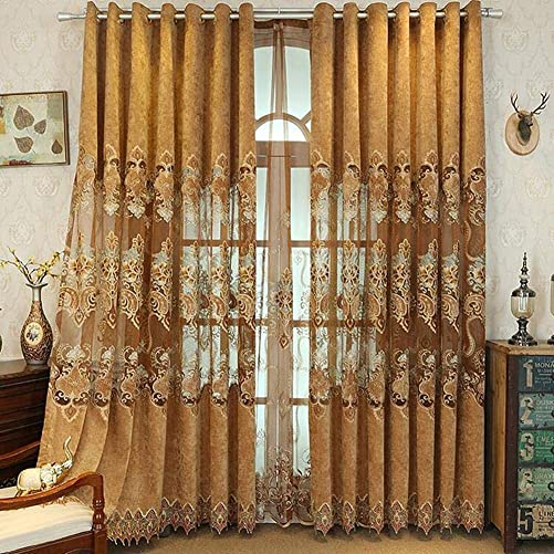 Gxi Brown Curtain Drapes Grommet