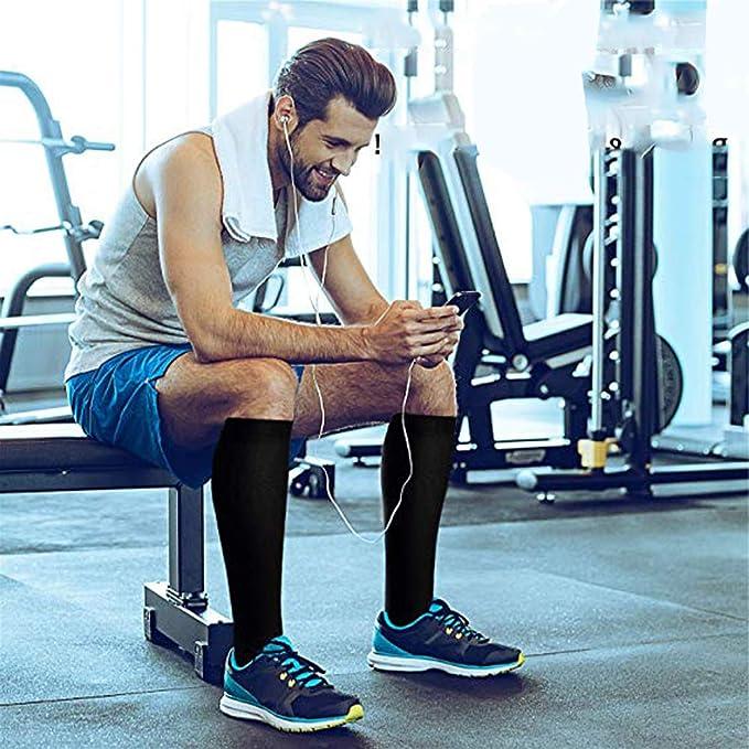 Amazon.com: Calcetines deportivos largos para hombre, para ...