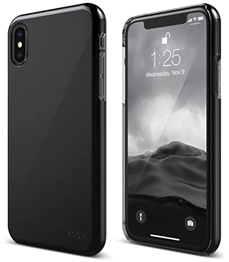 quality design 1d485 63928 elago Slim Fit 2 Series iPhone Xs, iPhone X Case - Durable Scratch  Resistant Coat Minimalistic Designed Protective Cover for Apple iPhone Xs  (2018), ...