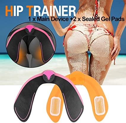 EMS Intelligent USB Hip Trainer Buttocks Lifting Fitness Body Beauty Machine US