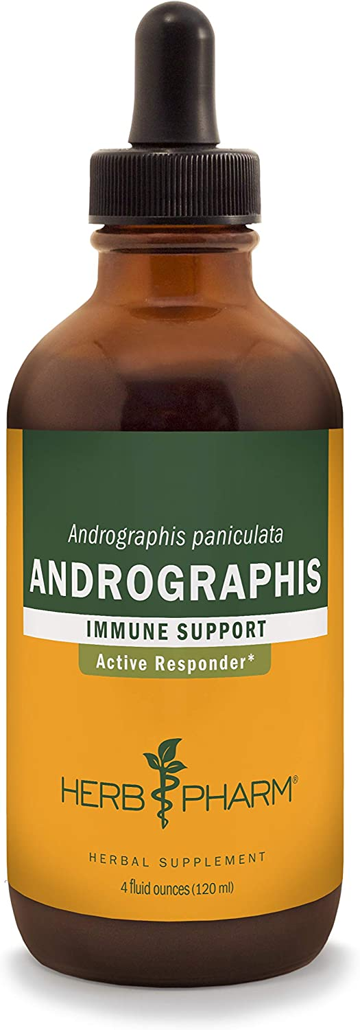 Herb Pharm Andrographis Liquid Extract for Immune System Support – 4 Ounce
