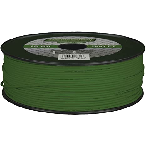 Install Bay PWGN18500 Primary Wire 18 Gauge Green 500 Feet