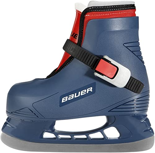 Bauer Lil Angel Champ Skates in blue with red accent