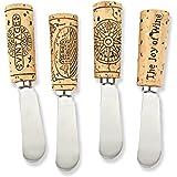 Vintage Wine Cork Cheese Spreader