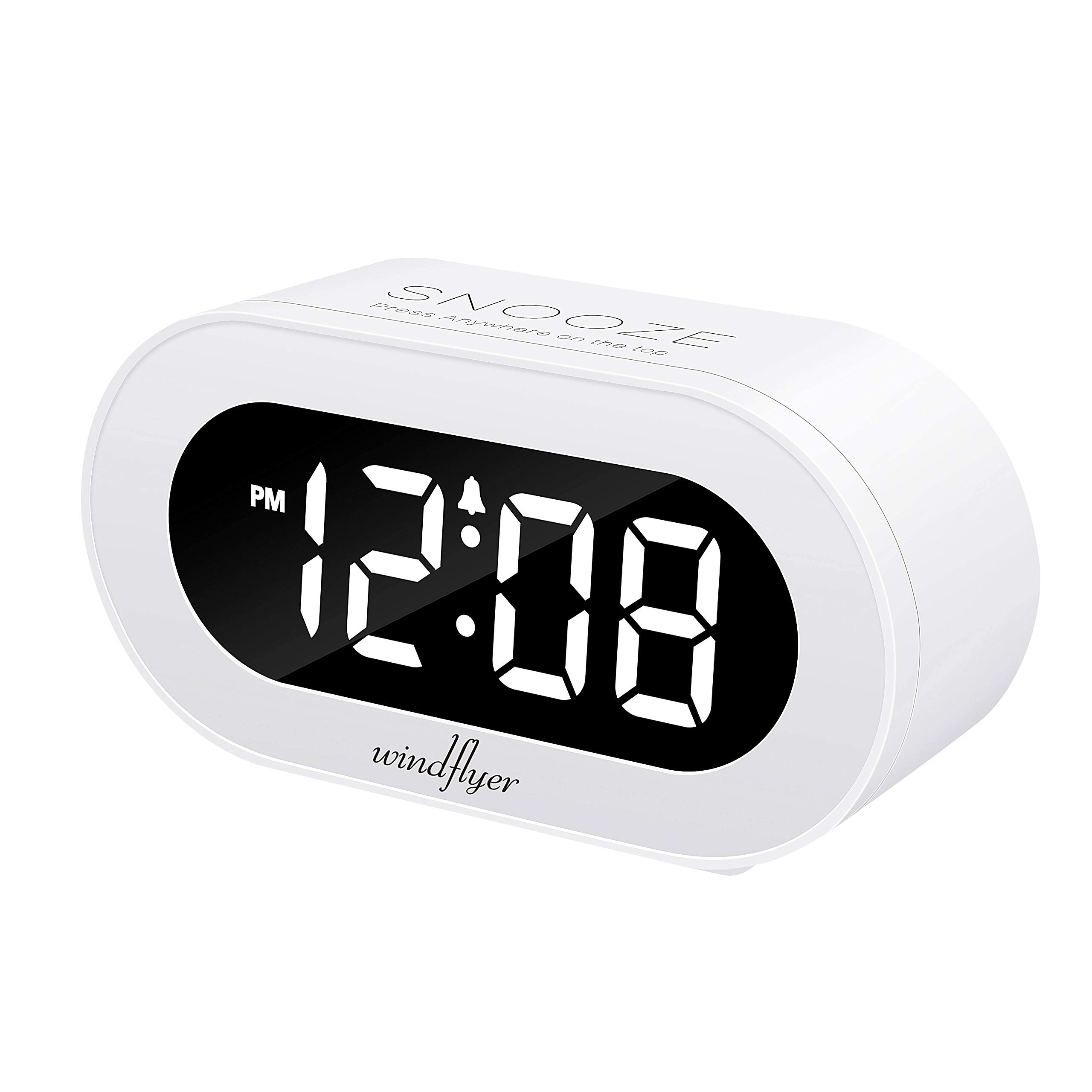 Clocks Home & Garden Kind-Hearted Hot Led Wake Up Alarm Clock 3 Brightness Night Light Digital Modern Design Table Desktop Clocks Natural Sounds Alarm Home Decor Fine Workmanship