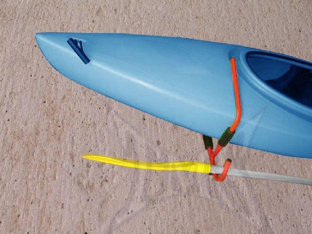 Kayak Steel  Ladder Wall Mount Storage Rack Bike Surfboard Canoe Folding Hanger