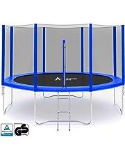 ULTRAPOWER SPORTS Filet de Remplacement pour Trampolines Filet de sécurité pour Trampolines Ø 244 305 366 397 430 cm - Noir/Bleu/Vert/Rose