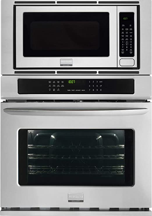 "Frigidaire FGMC3065PF Gallery 30"" Stainless Steel Electric Combination Wall Oven - Convection"