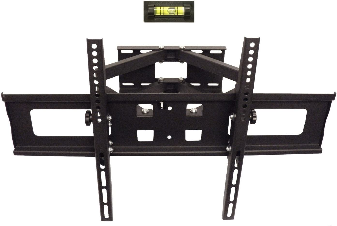Amazon Com Lcd Led Tv Wall Mount 32 70 Full Motion Dual Arm Tilt Swivel Hold Up To 88lb Vesa Up To 600mm W X 400mm H Home Audio Theater