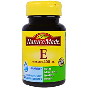 Nature Made Vitamin E, 400 Iu, Premium Softgels