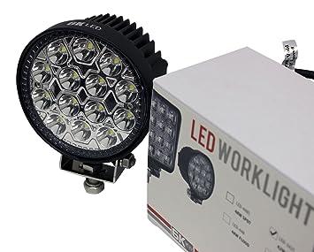 6KLED 342S 42w 4.5u0026quot; Round LED Spot Light Off Road Lighting 12volt 24volt Off Road  sc 1 st  Amazon.com & Amazon.com: 6KLED 342S 42w 4.5