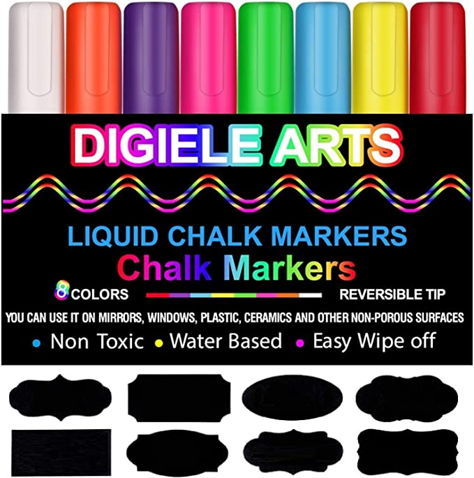 marcadores que se borran tiza liquida chalk blanca