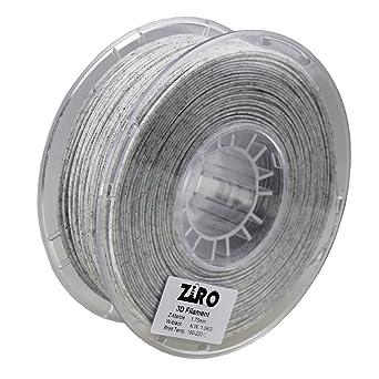 2.2lbs ZIRO 3D Printer Filament PLA 1.75mm Glow in The Dark Color Series 1KG ...