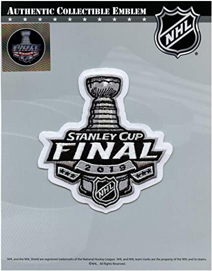 2019 Stanley Cup Final Patch Official Licensed Patch in Package with Holographic Seal