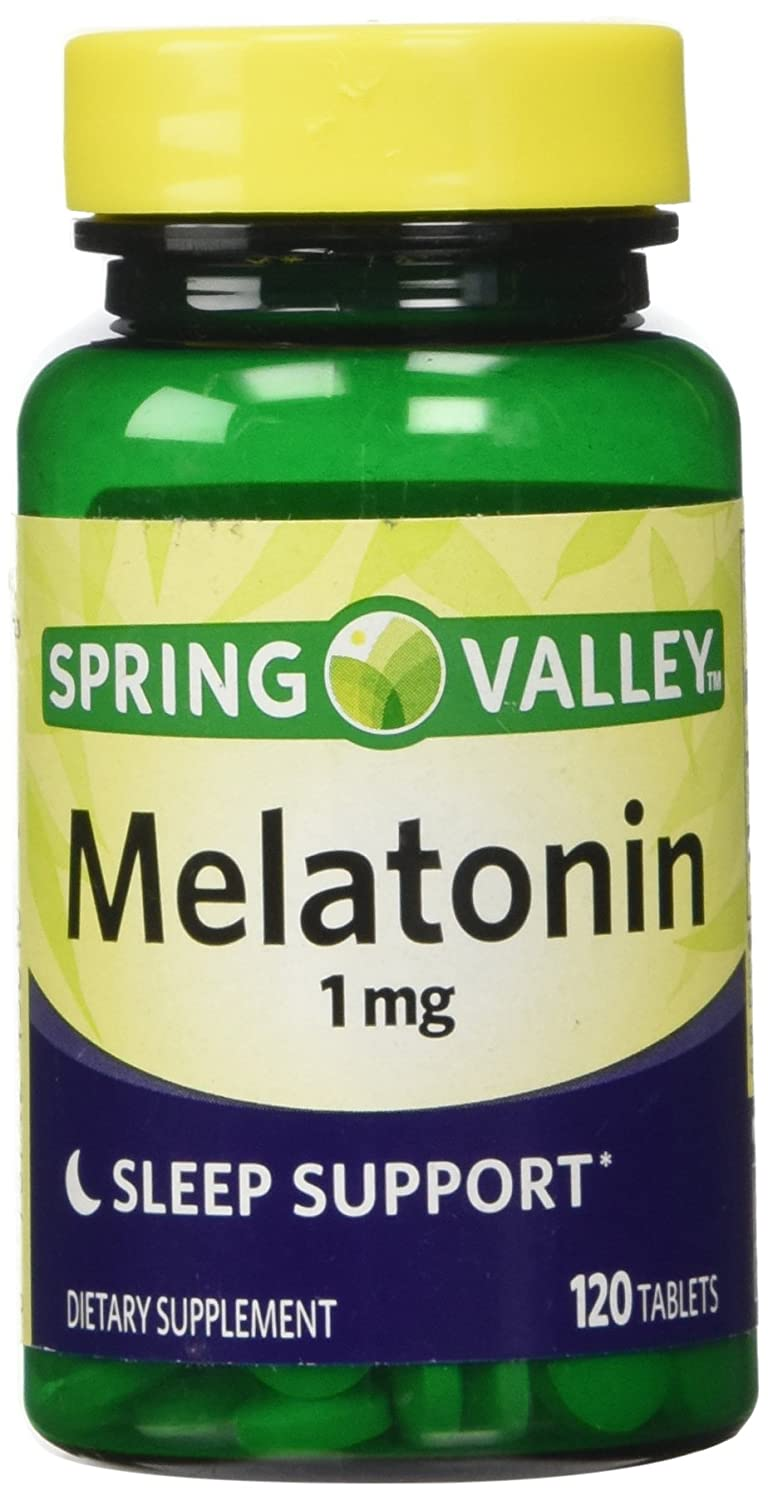 Amazon.com: Spring Valley - Melatonin 1 mg, 120 Tablets: Health & Personal Care