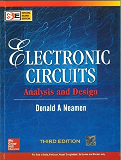 microelectronics circuit analysis and design donald a neamenelectronic circuits analysis and design third edition (third edition)